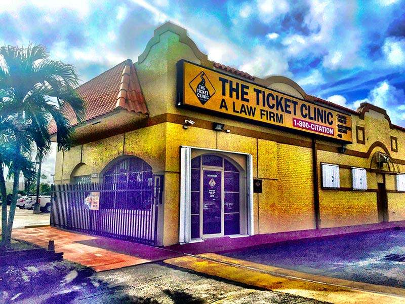 south dade ticket lawyers. photo of the ticket clinic building